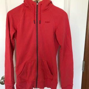 Nike hooded zip up sweatshirt, XS